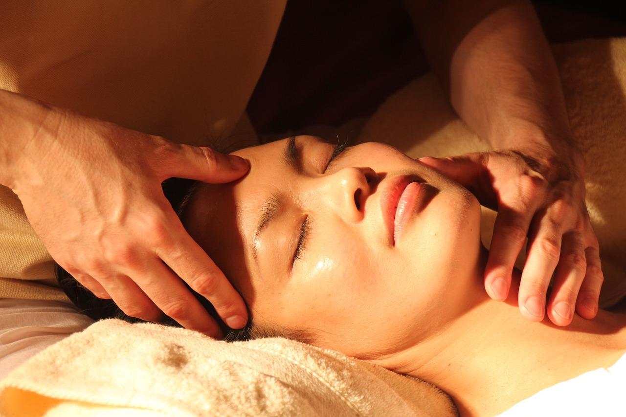 Massage Gesicht